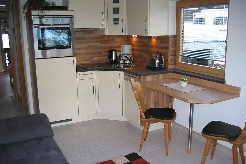 Küche Apartment Hochjoch