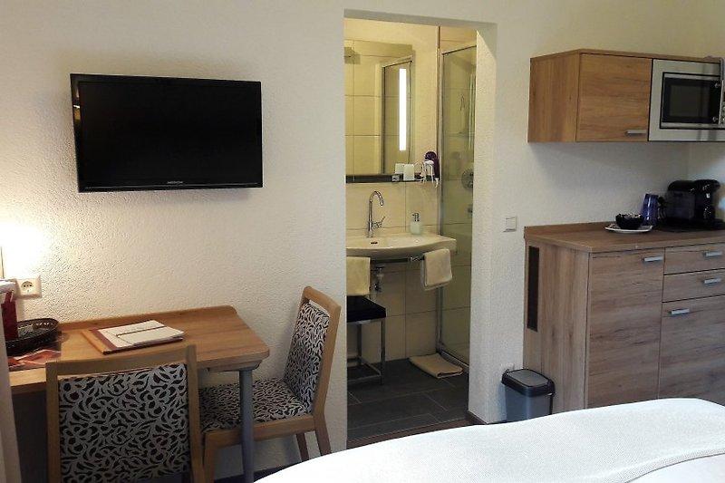 Doppelzimmer mit kl. Küche