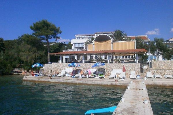Apartments direkt am Meer mit Pool in Mimice - Bild 1