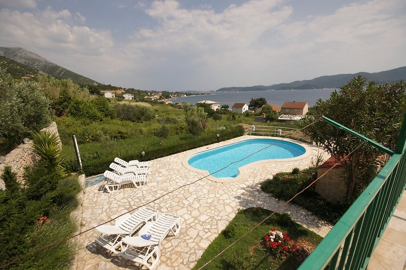 casa de la piscina Viganj (160) en Kuciste - imágen 2