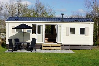 Large 4-person holiday home on mini-camping near the Veerse Meer and Oostkapelle