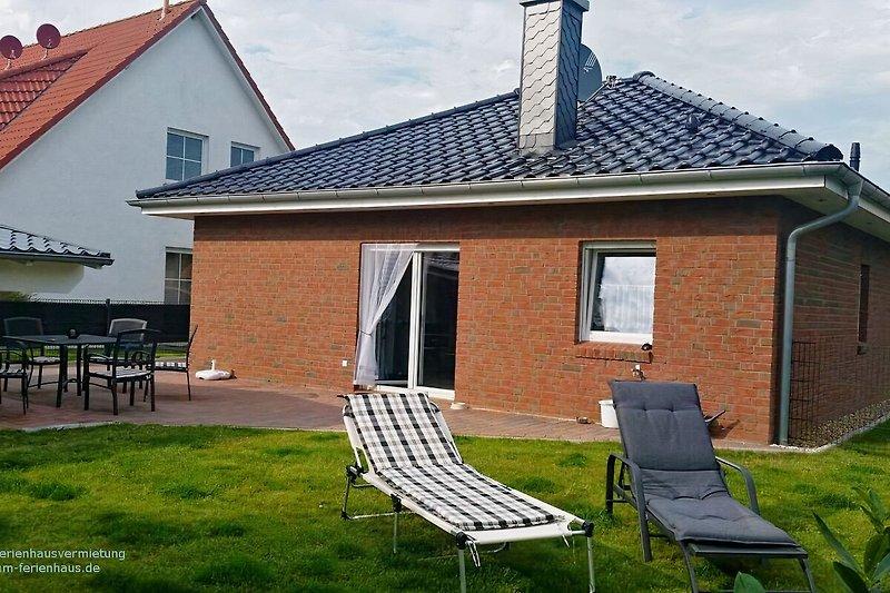 Gartenansich Haus Nordseebrise