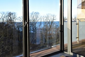Privates Appartement mit Meerblick