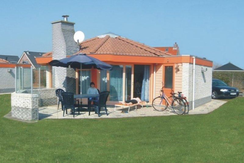Terrasse Ferienhaus Seestern 315