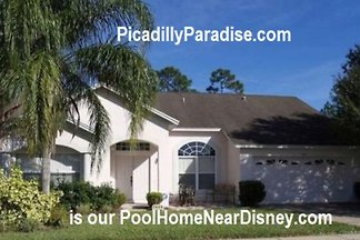 Private Pool Home 6 miles to Disney