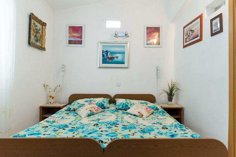 Schlafzimmer Fewo Adria