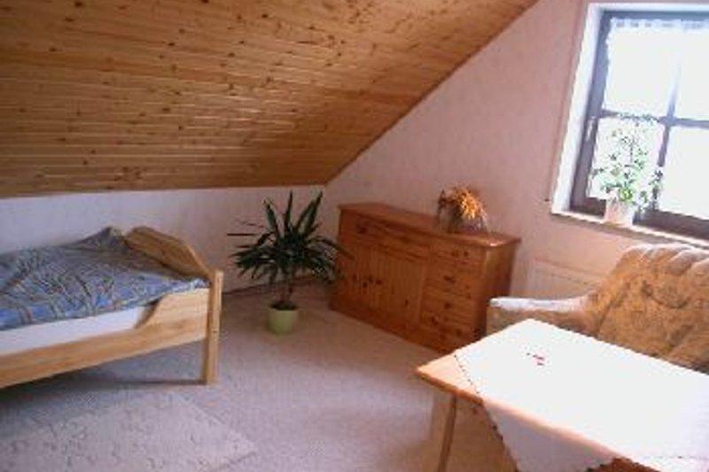 """Schlafzimmer Ferienwohnung """"Wachsenburgblick"""""""