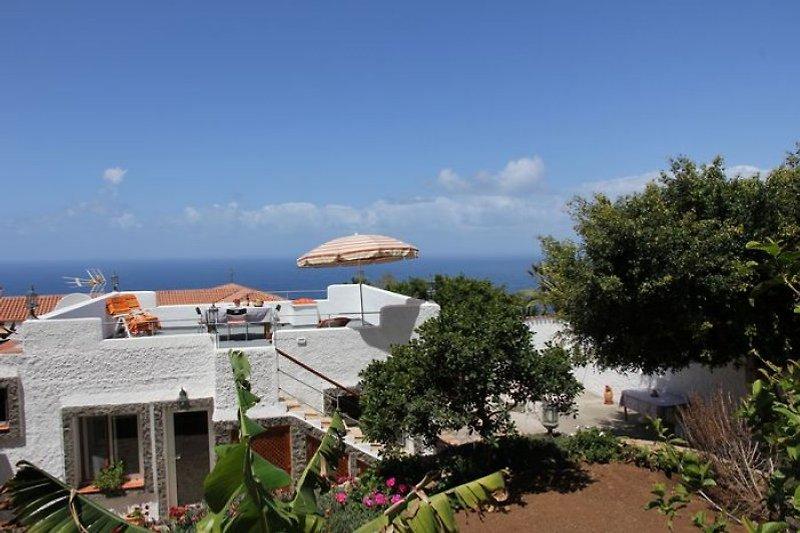 Finca Guave - Blick auf die Dachterrasse