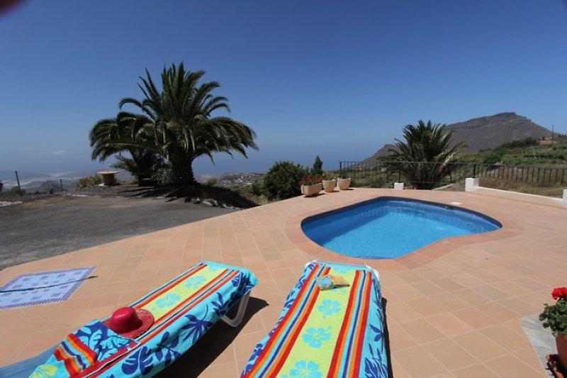 Pool mit Aussendusche- Casa Jorkie