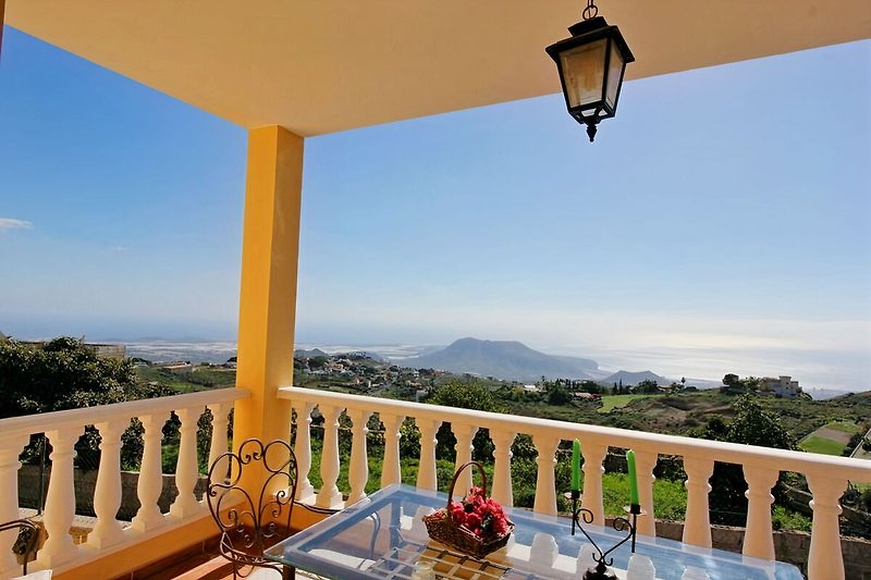 Balkon in der 1. Etage- Casa Arianny