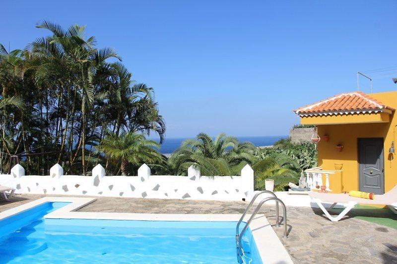 Poolbereich - schöne Finca nah am Meer