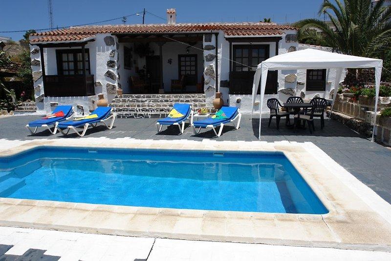 Finca La Cuadra mit beheiztem Pool