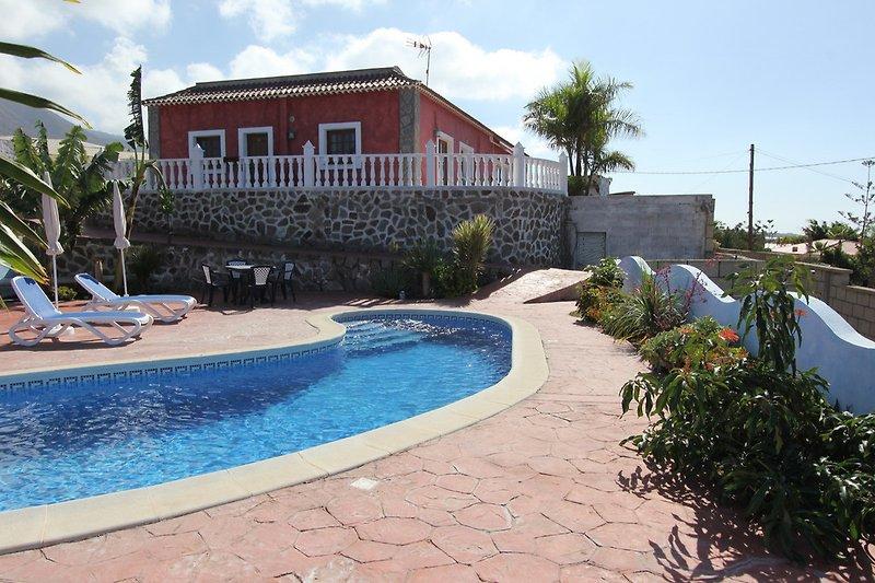 Finca Ferienhaus Vivaldi-oberhalb von Playa San Juan