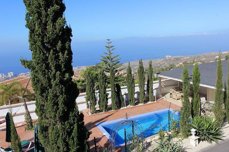 Ferienhaus Delujo mit beheiztem Pool