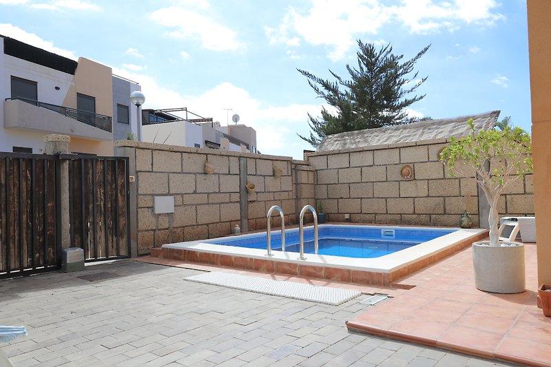 Der Pool-Ferienhaus Maribel