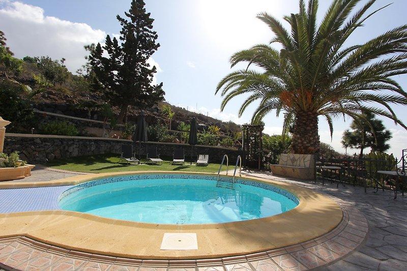 Der beheizte Pool- Casa Carlito