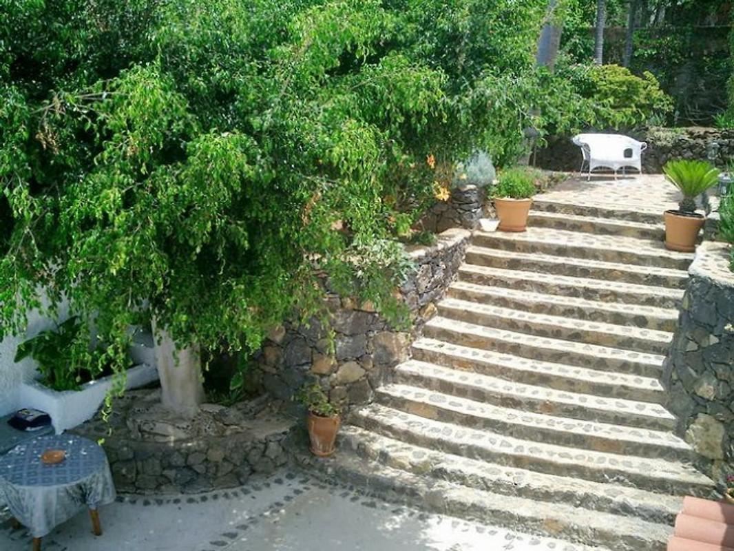 Finca guave mit pool wifi sat tv ferienhaus in el for Angelegter garten