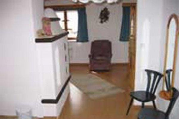 Wohnbereich mit Kachelofen