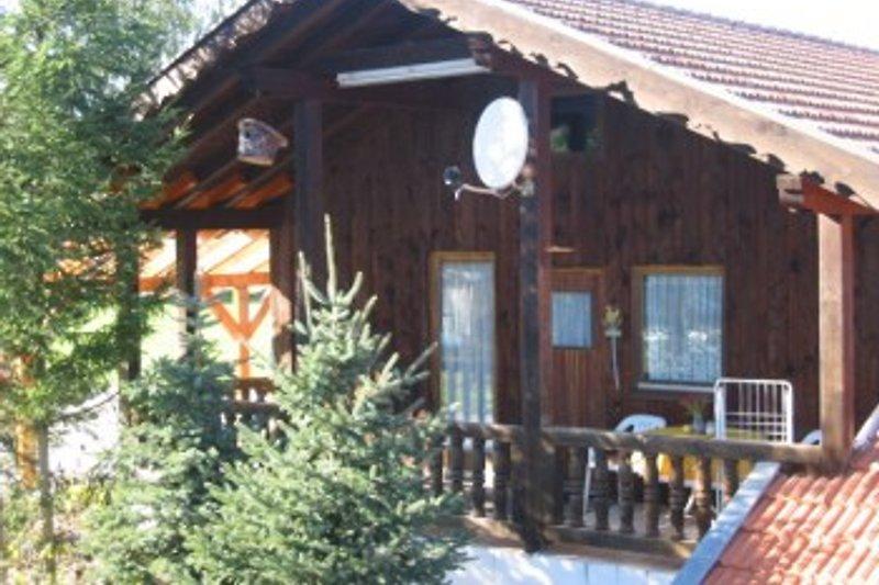 Ferienhütte Abschlag mit Sauna