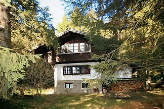 Jagdhütte im Wald (umzäunt)