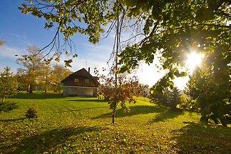 Sittichhaus mit Außen Sauna