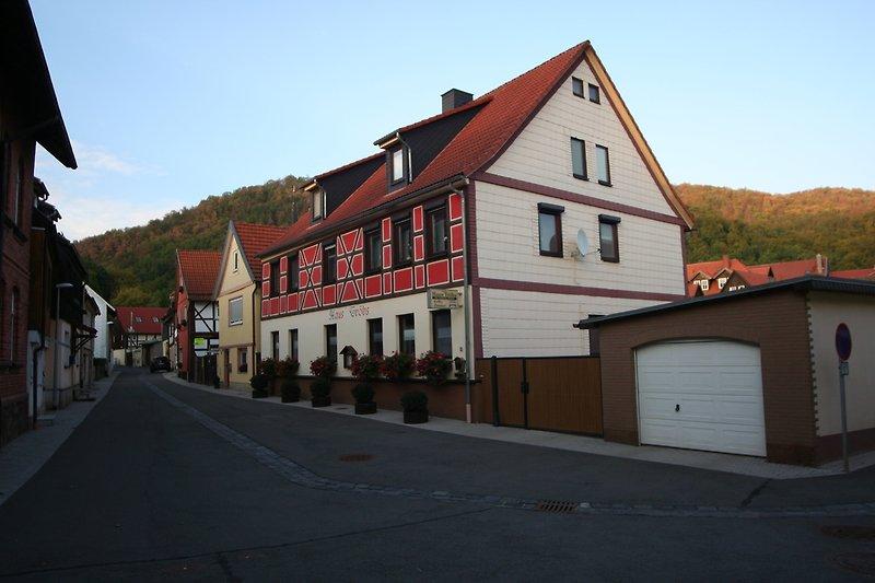 Gästehaus Tröbs mit Burggasse