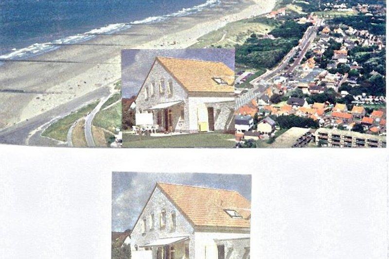Ferienhaus 15M laufend vom Meer