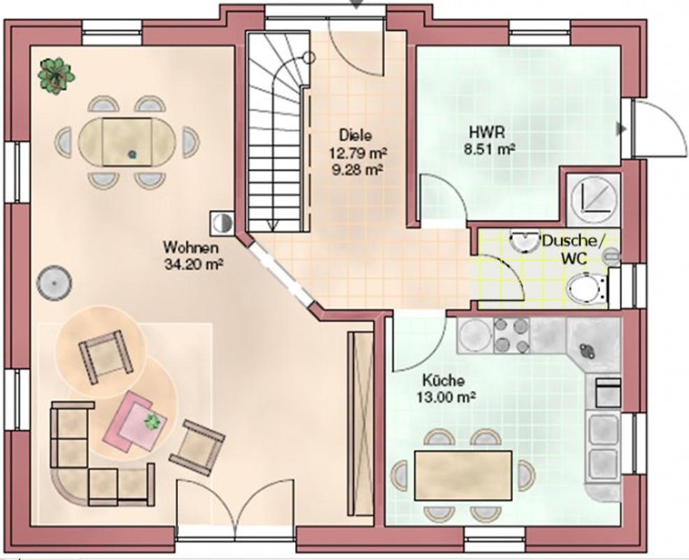 Superior Grundriss Erdgeschoss