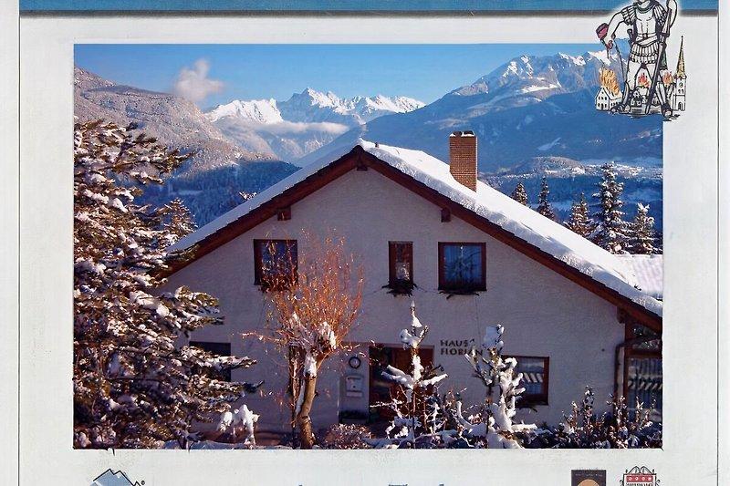 Haus Florian mit Ötztalpanorama
