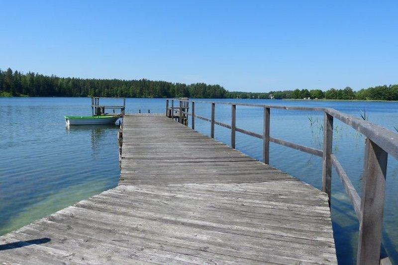 Der See und Boot