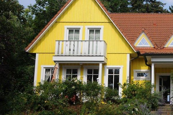 Ferien im gelbe Schwedenhaus am Diecksee