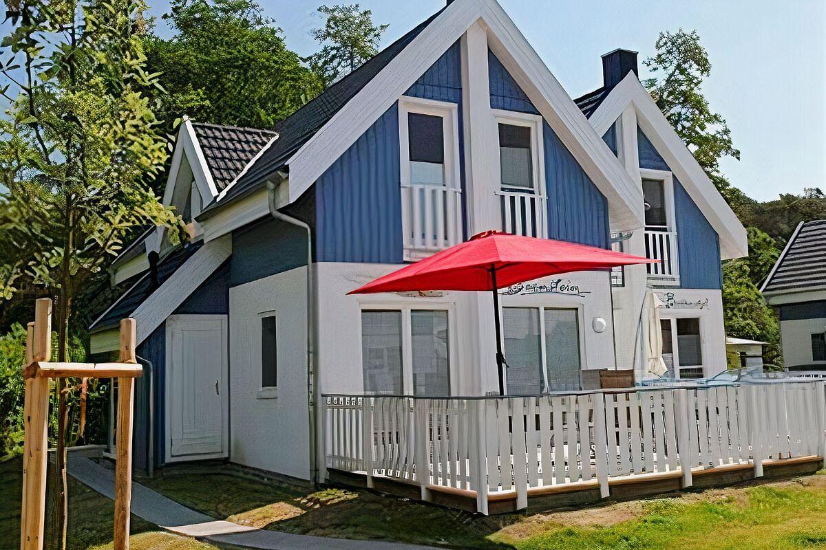 exklusives strandhaus ferienhaus in breege mieten. Black Bedroom Furniture Sets. Home Design Ideas