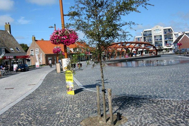 Der Marktplatz in Petten