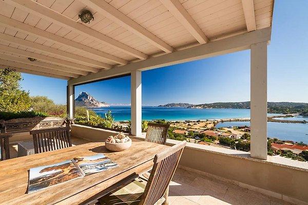 House with a fantastic view! à Porto Taverna - Image 1