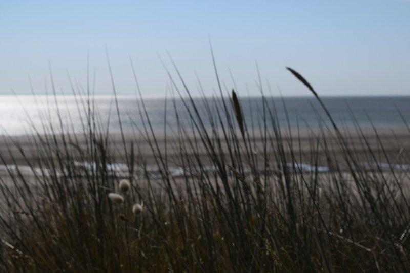 Uncrowded Bretteville beach