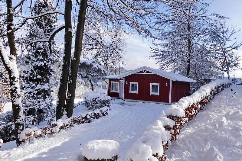 Zum Schwarzen Raben im Winter