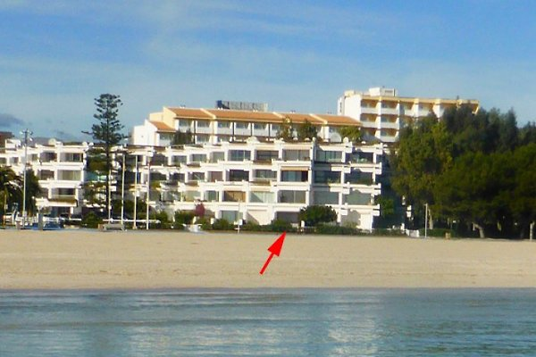 Ferienwohnung direkt am Strand en Alcudia -  1