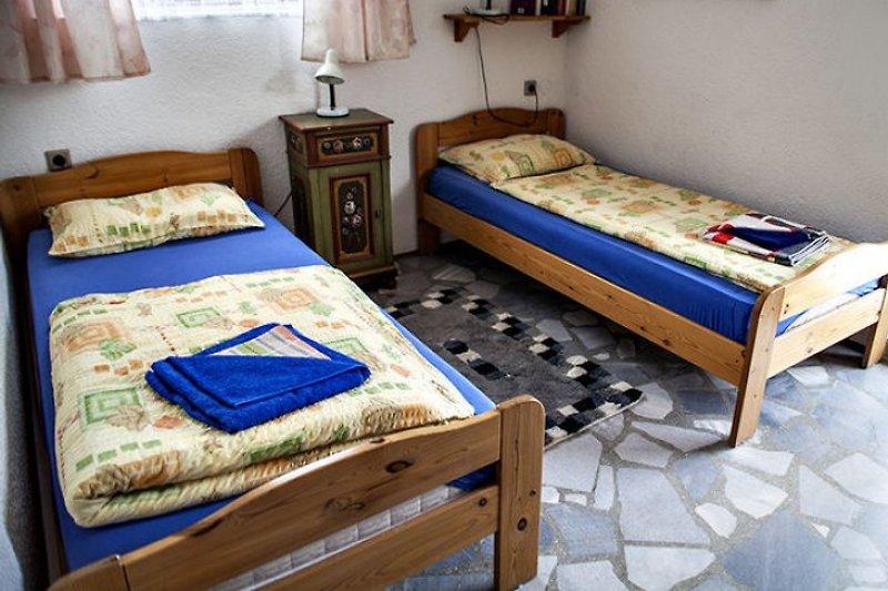 Appartement, Betten getrennt