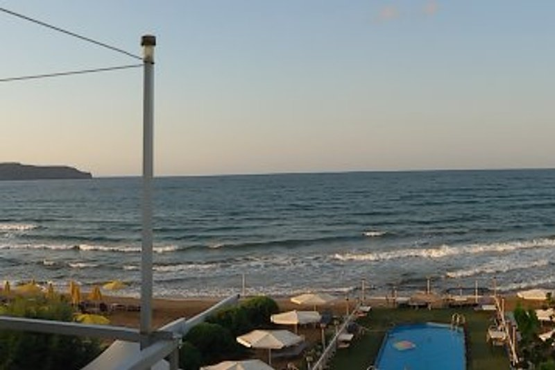 Aussicht Pavlakis Beach