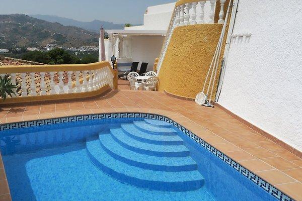 Casa del Sol, con vista al mar, piscina, Wi-Fi en Almunecar - imágen 1