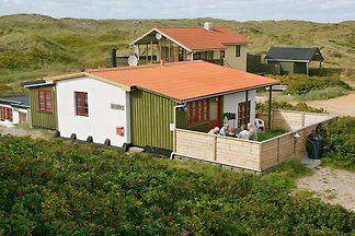 Spa house in the first dunes of the North Sea.