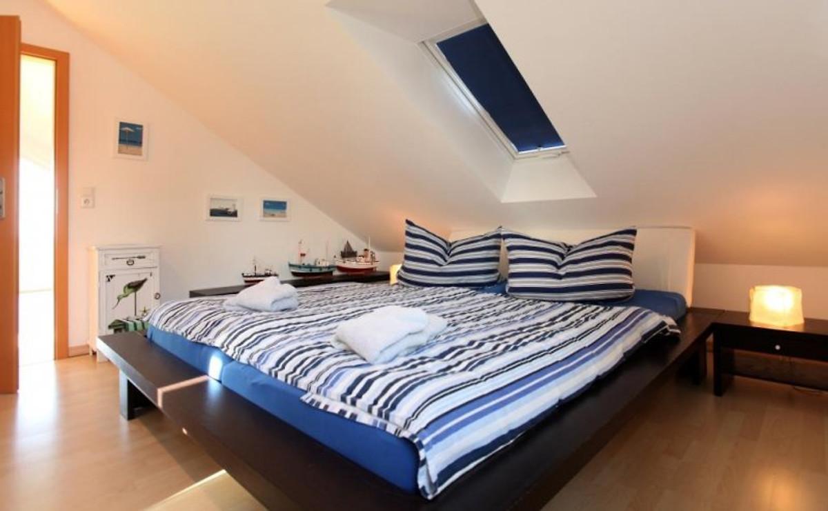 Ferienhaus captain 39 s rest ferienhaus in boiensdorf mieten for Schlafzimmer dachgeschoss