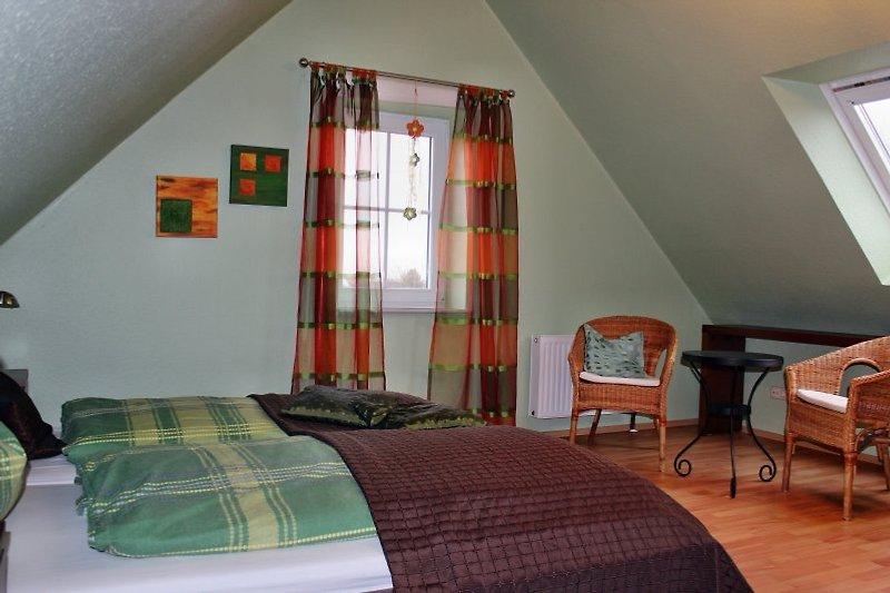 Schlafzimmer 2 - auch mit Sitzecke