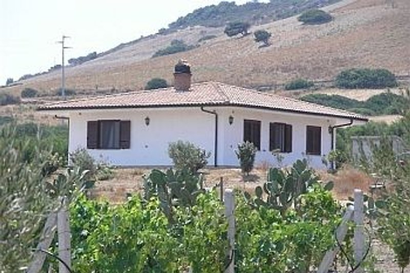 Freistehende Villa Limone auf gr. Privatgrundstueck am Stadtrand
