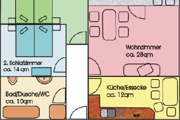 Ferienwhg. mit Baumhaus/Garten en Zandt -  1