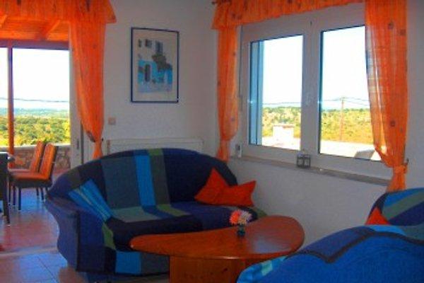 Haus mit Pool und Meerblick in Prinos-Scaletta - immagine 1