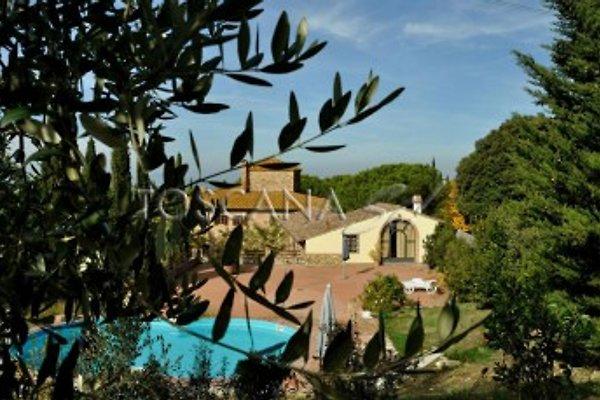 Das toskanische Landhaus mit Pool