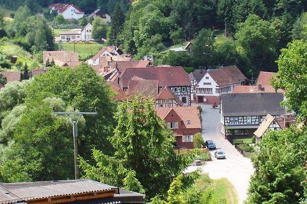 Das Dorf von oben