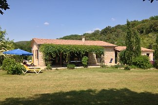 Cottage in Ardèche, large garden
