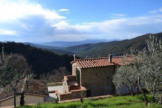 Landhaus mit Panoramablick und Pool